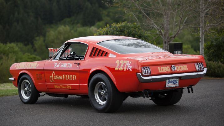 A/FX Mustang Drag