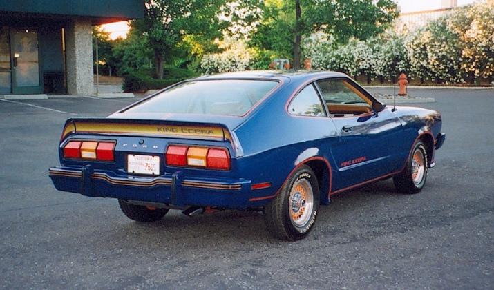 Mustang II King Cobra 1978