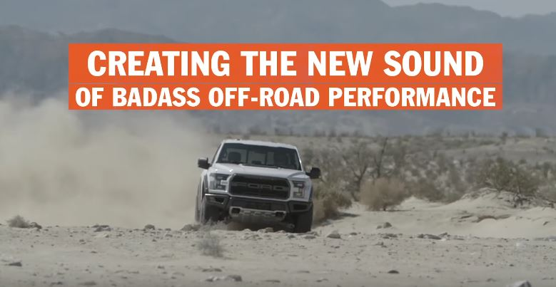 2017 Ford Raptor Exhaust Video