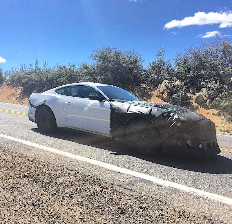 2019 GT500 Camo Desert Testing