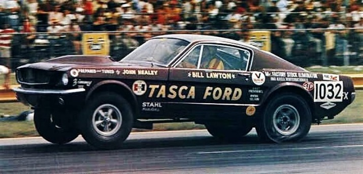 196 A/FX Mustang Drag Strip