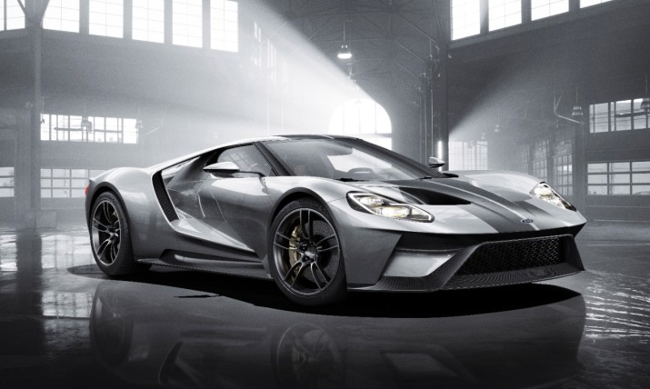 Ford GT in Silver