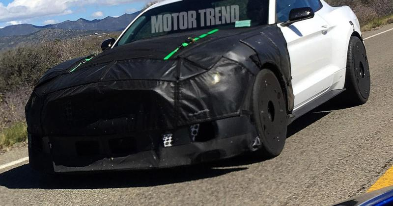 2019 Shelby GT500 Spy Shot