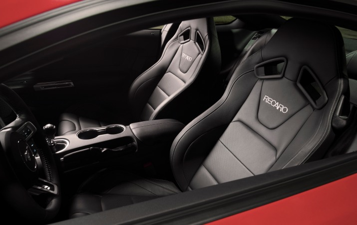2018 Performance Pack Level 2 Mustang's Seats