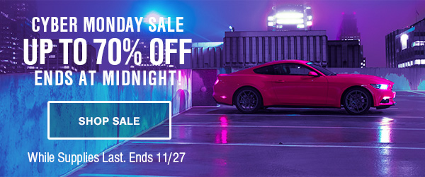 2017 Mustang Cyber Monday Promo