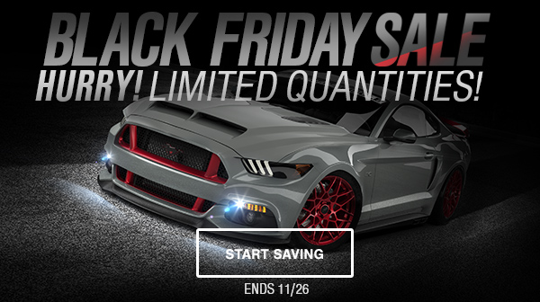 2017 Mustang Black Friday Announcement